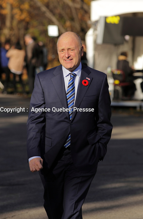US ambassador to Canada Bruce Heymann  on the grounds of Rideau Hall in Ottawa, Ontario, on Wednesday, November 4, 2015.<br /> <br /> PHOTO : Pierre Roussel<br /> - Agence Quebec Presse