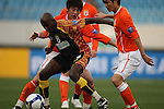 Shandong Luneng vs Sriwijaya during the 2009 AFC Champions League Group F match on March 17, 2009 at the ,Shandong Provincial Stadium, Jinan, China. Photo by World Sport Group