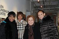 02-12-12 Kim Brockington -  Yvonna Wright - Kim Sykes - mom Betty & Lucy Anne Hurston see Zora