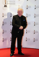 12/2/11 Jim Sheridan on the red carpet at the 8th Irish Film and Television Awards at the Convention centre in Dublin. Picture:Arthur Carron/Collins