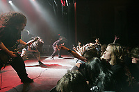 Metal band Katalysm in concert at le Theatre imperial on rue St-Joseph in Quebec City March 6, 2007.
