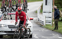 Caleb Ewan (AUS/Lotto-Soudal) as the 1-but-last sprinter up the Colle Passerino (3km from the finish)<br /> <br /> 104th Giro d'Italia 2021 (2.UWT)<br /> Stage 4 from Piacenza to Sestola (187km)<br /> <br /> ©kramon