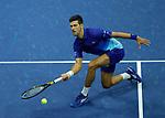 September  10, 2021:  Novak Djokovic (SRB) defeated Alexander Zverev (GER) in five sets, at the US Open being played at Billy Jean King National Tennis Center in Flushing, Queens, New York / USA  ©Jo Becktold/Tennisclix/CSM/CSM