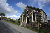 Pictured: One of the chapels in the village. Thursday 01 June 2017<br /> Re: There has been a 4G mobile phone mast installed at the village of Littlestay in Powys, Mid Wales.