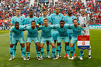 Netherlands line up before the UEFA Nations League Final match between Portugal and Netherlands at Estadio do Dragao on June 9th 2019 in Porto, Portugal. (Photo by Daniel Chesterton/phcimages.com)<br /> Finale <br /> Portogallo Olanda<br /> Photo PHC/Insidefoto <br /> ITALY ONLY