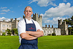"Cormac Rowe joining the team at ""Kitchen in the castle"" cookery school at Howth Castle. Pic: Angela Halpin"