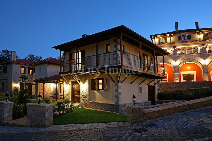 traditional house<br /> <br /> A two story three bedroom house located in a Greek ski resort area in Arkadia.  The home is completely decorated with Italian brand furniture which the owner represents in his furniture stores in Greece.