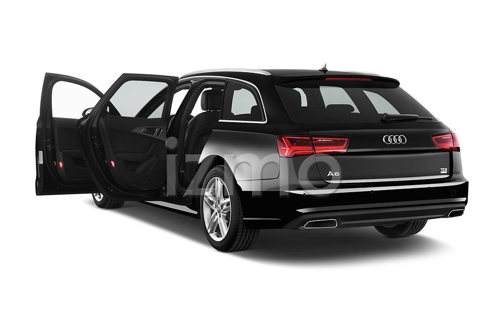 Car images close up view of a 2018 Audi A6 Avant S Line Select Doors Door Wagon doors