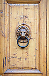Europe, Italy, Tuscany, Florence, Door Knocker