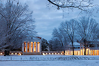 The University of Virginia in Charlottesville, Virginia. Credit Image: © Andrew Shurtleff