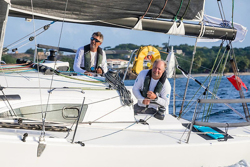 Richard Palmer and Jeremy Waitt on JPK 10.10 Jangada - RORC 2020 Yacht of the Year following a big season that started with outright victory in the Transatlantic Race and ended with their winning the IRC Two-Handed Autumn Series