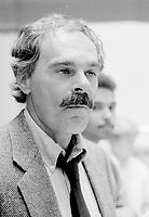 August 21, 1985 File Photo - Jean Beaudin, filmmaker on a promotion activity for his movie LE MATOU, based on the eponymous book by Yves Beauchemin.