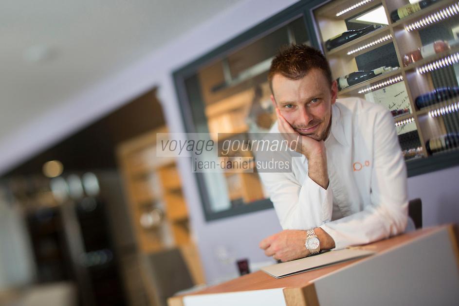 Europe/France/Rhône-Alpes/73/Savoie/Chambéry: Restaurant:  Alexandre Ongaro dans son Restaurant: Côté Marché [Non destiné à un usage publicitaire - Not intended for an advertising use]
