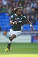 Marland Yarde of London Irish during the Aviva Premiership match between London Irish and Bath Rugby at the Madejski Stadium on Saturday 22nd September 2012 (Photo by Rob Munro)