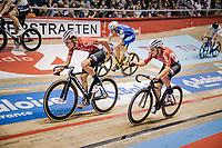 Tosh Van der Sande (BEL/Lotto Soudal) & Jasper de Buyst (BEL/Lotto-Soudal)<br /> <br /> Lotto 6daagse Vlaanderen-Gent 2018 / Gent6<br /> day 5