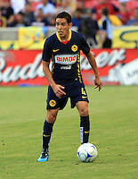 Oscar Rojas in the Club America @ Real Salt Lake 0-1 RSL win at Rio Tinto Stadium in Sandy, Utah on July 11, 2009