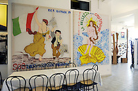 """- Sicilia,  Castel di Tusa (Messina), l'albergo - museo di arte moderna """" Atelier sul Mare """"<br /> <br /> - Sicily, Castel di Tusa (Messina), the hotel - museum of modern art """"Atelier sul Mare"""""""