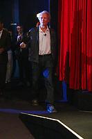 Clint EASWTWOOD lors d'une Master Class/ Leçon de cinéma en salle Bunuel pendant le soixante-dixième (70ème) Festival du Film à Cannes, Palais des Festivals et des Congres, Cannes, Sud de la France, dimanche 21 mai 2017. Philippe FARJON / VISUAL Press Agency