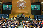 DSG meeting<br /> <br /> AM Plenary General DebateHis<br /> <br />  Excellency Michel Temer, President, Federative Republic of Brazi