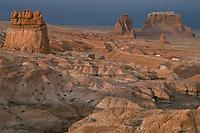 Sandstone buttes <br /> Goblin Valley <br /> Goblin Valley State Park <br /> Colorado Plateau,  Utah