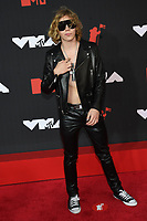NEW YORK, NY- SEPTEMBER 12: The Kid LAROI at the 2021 MTV Video Music Awards at Barclays Center on September 12, 2021 in Brooklyn,  New York City. <br /> CAP/MPI/JP<br /> ©JP/MPI/Capital Pictures