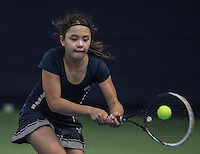 Hilversum, Netherlands, December 4, 2016, Winter Youth Circuit Masters, Marwa Hakimi  (NED)<br /> Photo: Tennisimages/Henk Koster