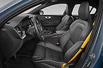Front seat view of 2021 Volvo S60-Recharge Polestar 4 Door Sedan Front Seat  car photos