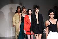Catwalk<br /> at the Marta Jakubowski SS18 Show as part of London Fashion Week, London<br /> <br /> <br /> ©Ash Knotek  D3308  15/09/2017
