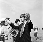 Beatles 1967 Ringo Starr filming Magical Mystery Tour on Bodmin Moor<br /> © Chris Walter