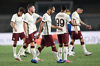 delusione Roma <br /> Serie A football match between Hellas Verona and AS Roma at Marcantonio Bentegodi Stadium in Verona (Italy), September 19th, 2020. Photo Image Sport / Insidefoto