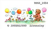 GIORDANO, CUTE ANIMALS, LUSTIGE TIERE, ANIMALITOS DIVERTIDOS, Teddies, paintings+++++,USGI1654,#AC# teddy bears