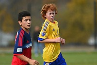 Carmel, IN - Saturday, October 24, 2015:  USSDA -  U13/U14 Midwest Regionals Showcase:  Central
