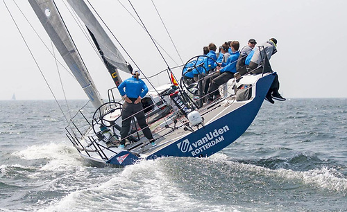 Promoting youth participation - the Youth Rotterdam Offshore Sailing Team on the Ker 46 Van Uden © Van Uden