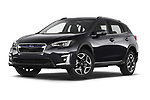 Stock pictures of low aggressive front three quarter view of 2020 Subaru XV-boxer Premium 5 Door SUV Low Aggressive