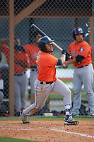 Houston Astros Alejandro Garcia (26) during a minor league Spring Training game against the Detroit Tigers on March 30, 2016 at Tigertown in Lakeland, Florida.  (Mike Janes/Four Seam Images)
