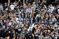 SAN FRANCISCO, CA--Fans enjoy the atmosphere at the inaugural Kraft Fight Hunger Bowl at AT&T Park in San Francisco, CA.