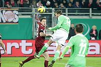 Kopfball Bas Dost (Wolfsburg)