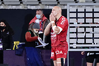 16th October 2020, Stade Maurice David, Aix-en-Provence, France;  Challenge Cup Rugby Final Bristol Bears versus RC Toulon;  Sergio Parisse (RC Toulon) watches pensively