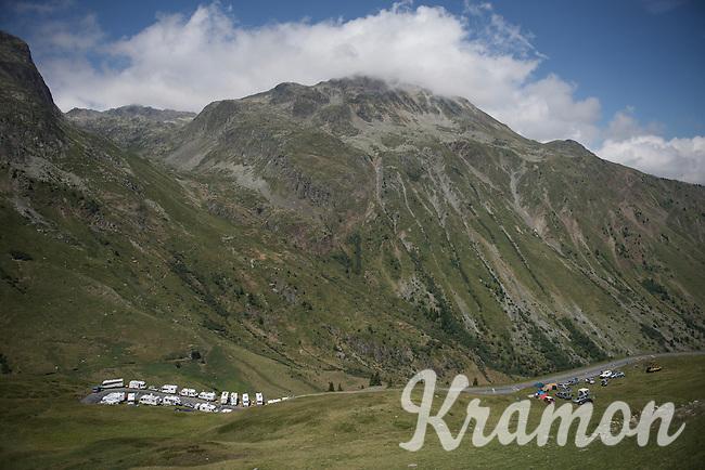 up the Col de Glandon (HC/1924m/21.7km@5.1%)<br /> <br /> stage 18: Gap - St-Jean-de-Maurienne (187km)<br /> 2015 Tour de France