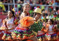 BARRANQUILLA-COLOMBIA-11-02-2013: Barranquilla vivió y disfrutó del desfile en su tercer día de Carnaval del Bicentenario con centenares de disfraces y agrupaciones que junto a los asistentes hicieron un desfile multitudinario y con mucho sabor barranquillero. Barranquilla lived and enjoyed the parade in his third day of Carnival Bicentennial with hundreds of costumes and groups together the assistants did a massive parade and flavorful Barranquilla. (Foto VizzorImage / Cont.).......