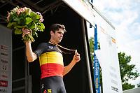 Wout van Aert (BEL/Jumbo-Visma) becomes the 2021 Belgian National Road Champion<br /> <br /> <br /> ©kramon