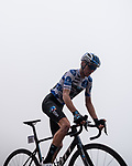Polka Dot Jersey Romain Bardet (FRA) Team DSM during Stage 18 of La Vuelta d'Espana 2021, running 162.6km from Salas to Alto del Gamoniteiru, Spain. 2nd September 2021.    <br /> Picture: Cxcling   Cyclefile<br /> <br /> All photos usage must carry mandatory copyright credit (© Cyclefile   Cxcling)