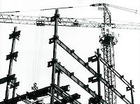 Baustelle in Seoul, Korea 1986