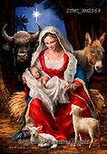 Marcello, HOLY FAMILIES, HEILIGE FAMILIE, SAGRADA FAMÍLIA, paintings+++++,ITMCXM2169,#xr# ,Madonna with child