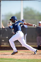 Milwaukee Brewers Yerald Martinez (74) during an Instructional League game against the Cincinnati Reds on October 14, 2016 at the Maryvale Baseball Park Training Complex in Maryvale, Arizona.  (Mike Janes/Four Seam Images)