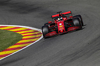 29th August 2020, Spa Francorhamps, Belgium, F1 Grand Prix of Belgium qualification;  5 Sebastian Vettel GER, Scuderia Ferrari Mission Winnow has a bad day at the office and does not get out of Q2