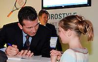7-1-00, Rotterdam, Tennis, ABNAMROWTT, Krajicek autograph