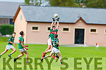 Action from St Brendans v Mid Kerry in the Minor Football Championship quarter final.