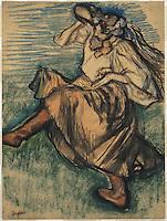 Russian Dancer, 1899  by Edgar Degas Philippe Sauvan-Magnet
