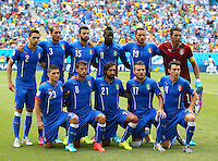 Italy team group photo before kick off